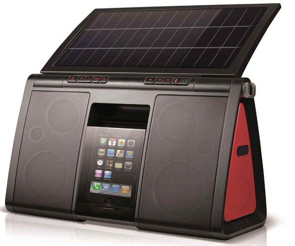 Eton Soulra XL Eton Soulra XL Solar Powered Sound System & Charging Dock