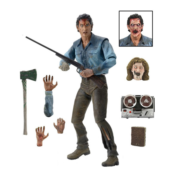 Evil Dead 2 Ash Ultimate 7-Inch Action Figure_small