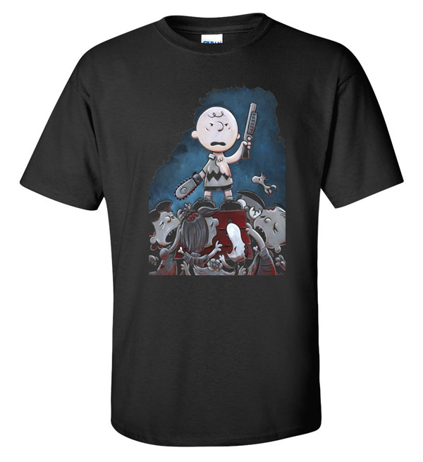 Evil Dead Charlie Brown T-Shirt