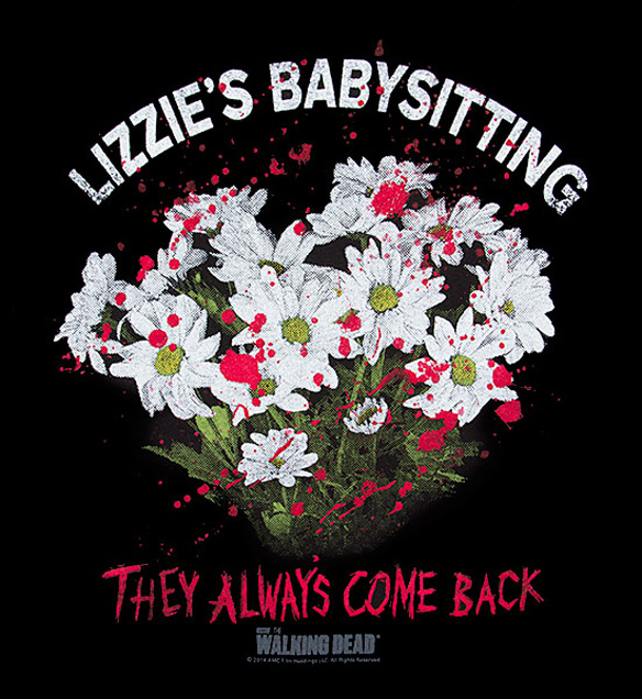 Exclusive Lizzies Babysitting Fitted Ladies T-Shirt