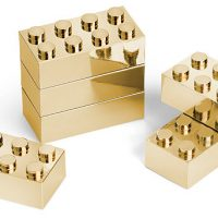 Executive Building Brick Set (Gold)
