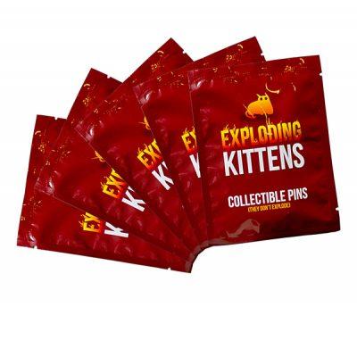 Exploding Kittens Pins