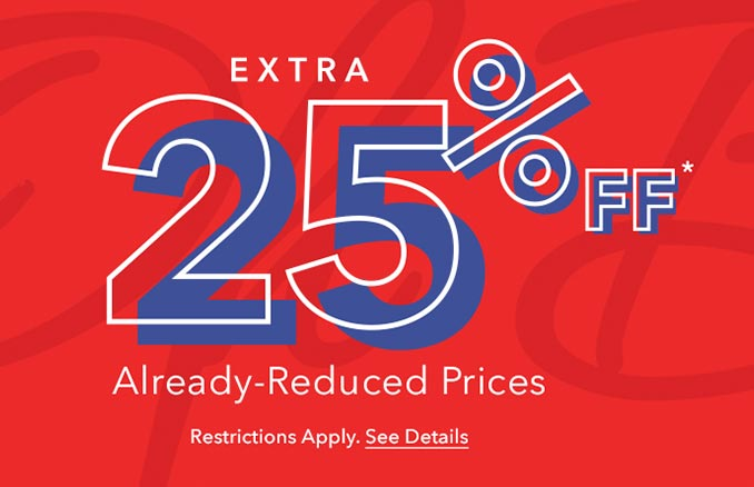 Extra 25% Off Disney Shop Clearance Event