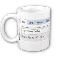 Facebook Status Mug