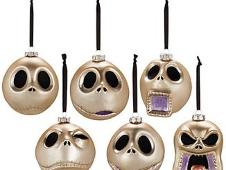 Faces of Jack Skellington Ornament Set