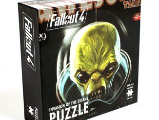 Fallout 4 Invasion of the Zetans 550pc Puzzle