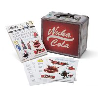 Fallout 4 Nuka World Lunchbox Replica + Sticker Pack