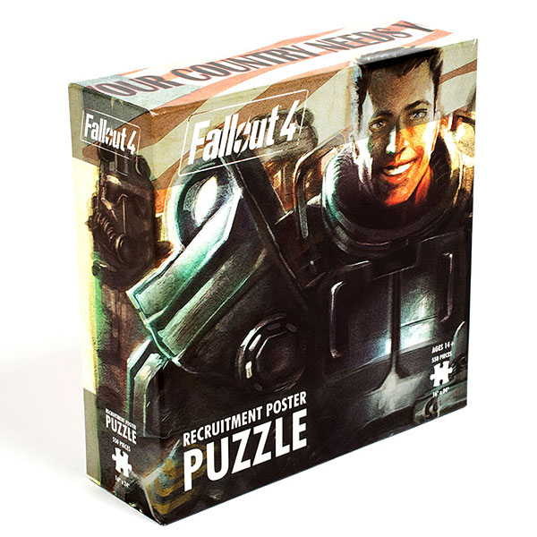 Fallout 4 Recruitment Poster 550pc Puzzle