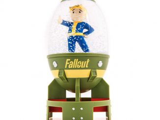 Fallout Fat Man Vault Boy Snow Globe