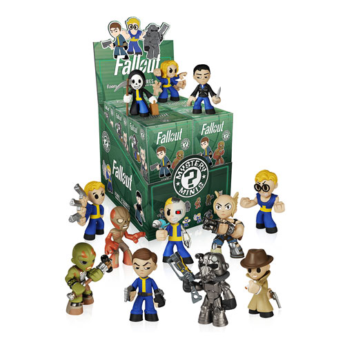 Fallout Mystery Minis Mini Figure Display Box