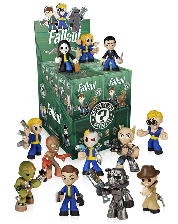 Fallout Mystery Minis Mini-Figures
