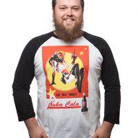 Fallout Nuka Cola Bombshell Raglan Tee