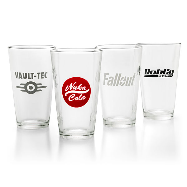 Fallout Pint Glass 4-Pack