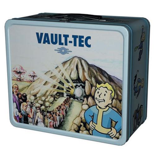 Fallout Shelter Pre-Nuclear Tin Tote Prop Replica