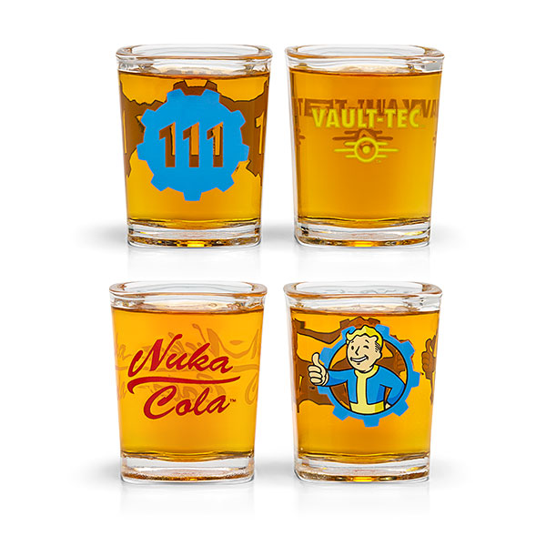 Fallout Shot Glass Set