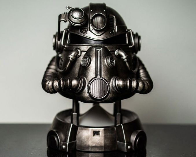 Fallout T-51 Power Armor Bluetooth Speaker