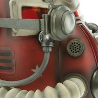 Fallout T-51 Power Armor Nuka Cola Helmet Detail
