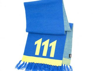 Fallout Vault 111 Knit Scarf