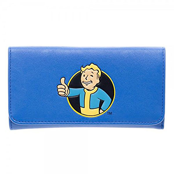 Fallout Vault Boy Flap Wallet