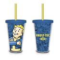 Fallout Vault Boy Vault-Tec 18 oz. Plastic Travel Cup