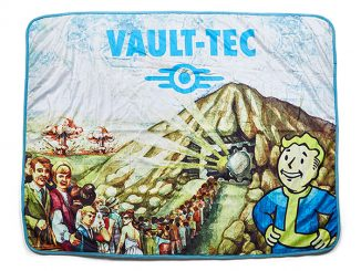 Fallout Vault-Tec Sublimated Sherpa Blanket