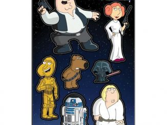 Family Guy Blue Harvest Magnet Set