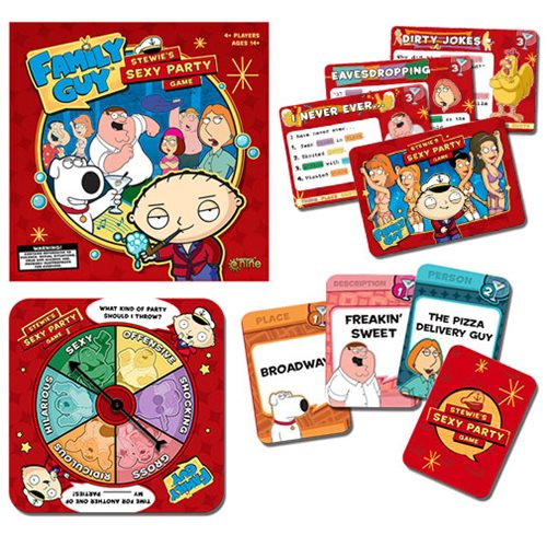 Family Guy Stewies Sexy Party Game