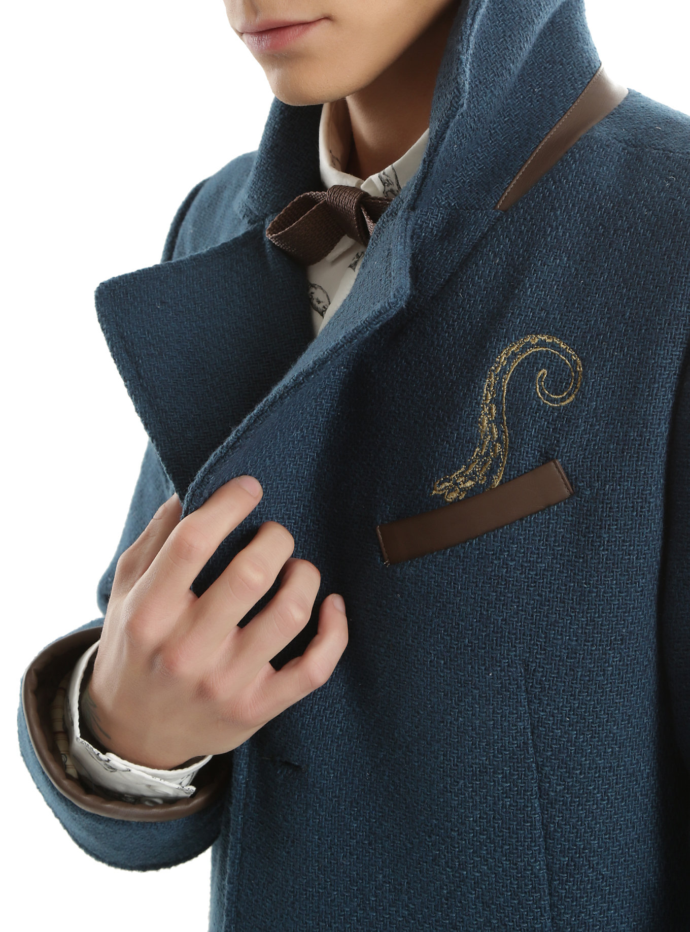Catching Up With Newt >> Fantastic Beasts And Where To Find Them Newt Scamander Overcoat