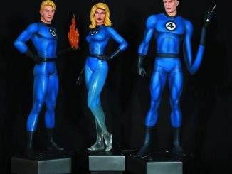 Fantastic Four Statues by Bowen
