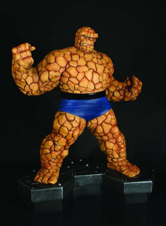 Fantastic Four Thing Statue by Bowen