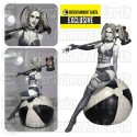 Fantasy Figure Gallery DC Comics Collection Black and White Harley Quinn Resin Statue