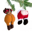 Farting Butt Ornaments