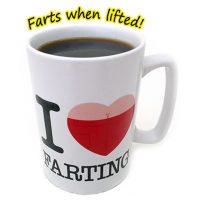Farting Mug