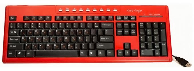 Fast Fingers Keyboard