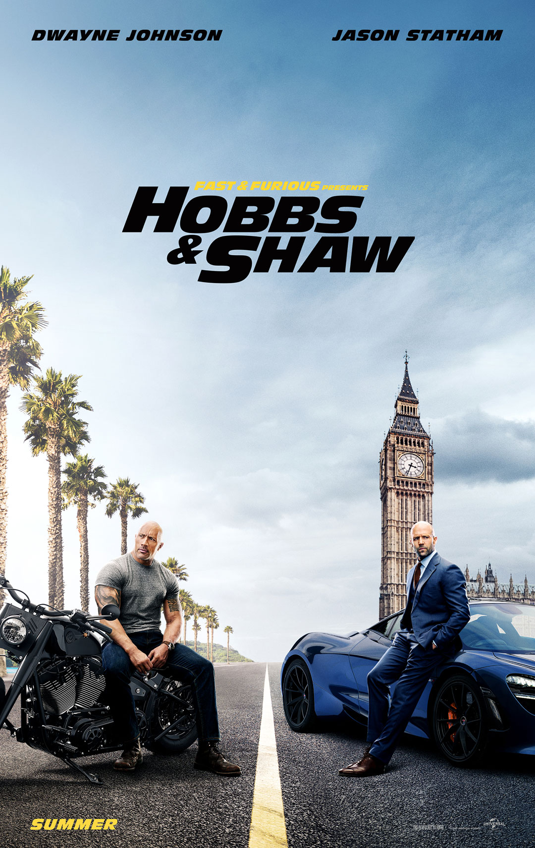 2 Door Charger >> Fast & Furious: Hobbs & Shaw – Official Trailer #2
