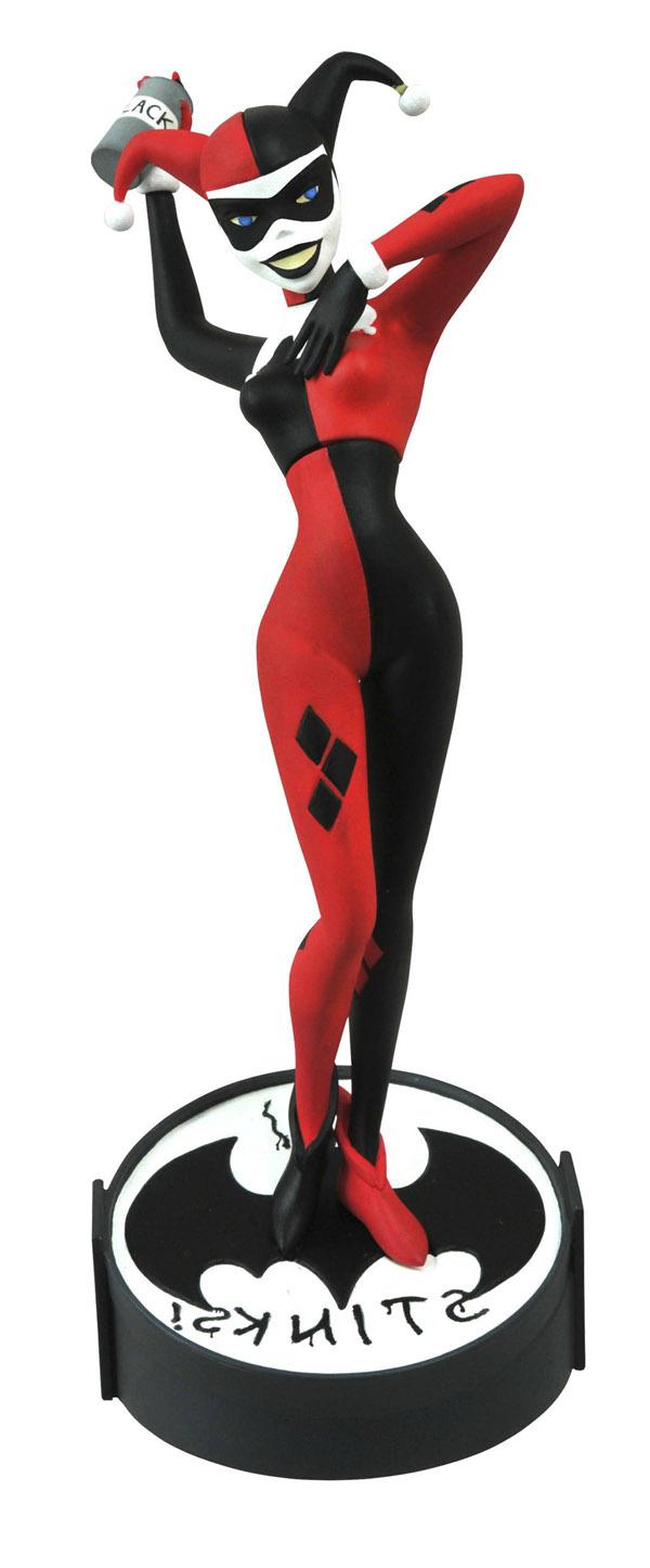 Femme Fatales Harley Quinn Color PVC Statue