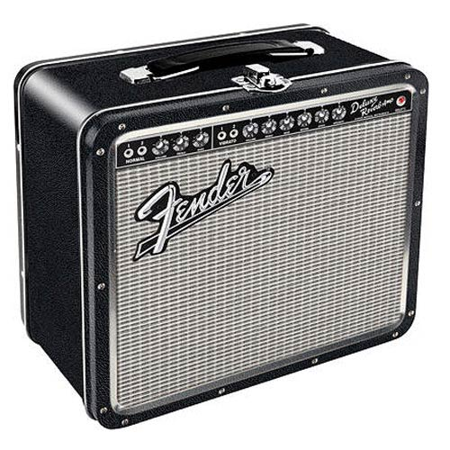 Fender Amp Tin Lunch Box