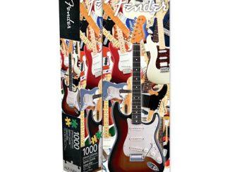 Fender Guitar 1,000-Piece Slim Puzzle
