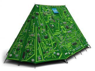 FieldCandy Tent Circuit Board