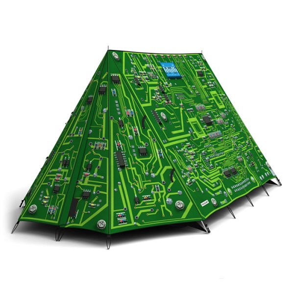 FieldCandy Tent Circuit Board  sc 1 st  GeekAlerts & Doctor Who TARDIS Play Tent