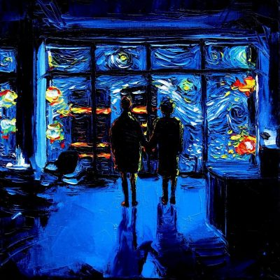Fight Club Starry Night Mash-Up