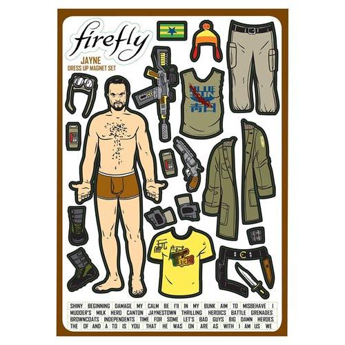 Firefly Jayne Cobb Magnet Set