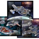 Firefly Serenity Cutaway Poster Set