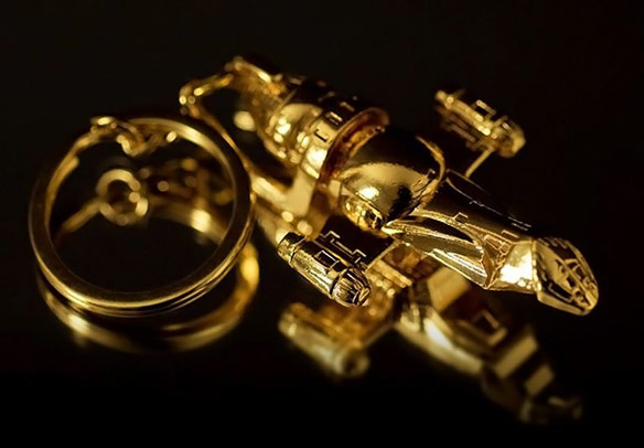 Firefly Serenity Replica SDCC 2013 Exclusive Gold Key Chain