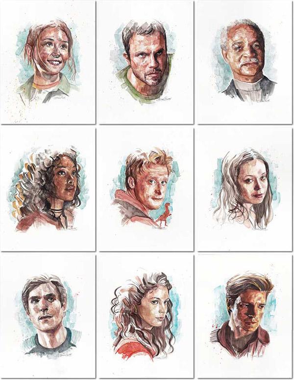 Firefly Serenity Shiny Nine Art Prints