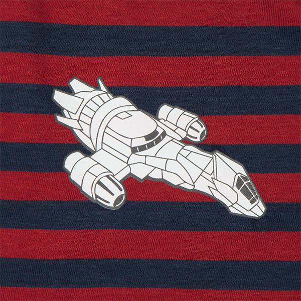 Firefly Serenity Striped Polo