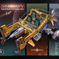 Firefly Spacecraft Poster Set