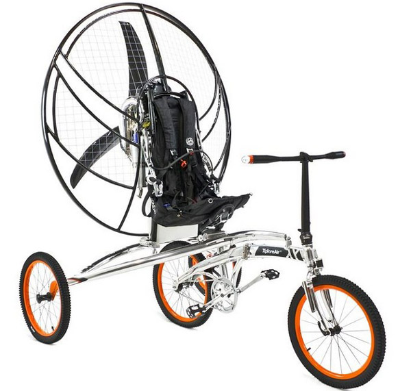 First Flying Bicycle