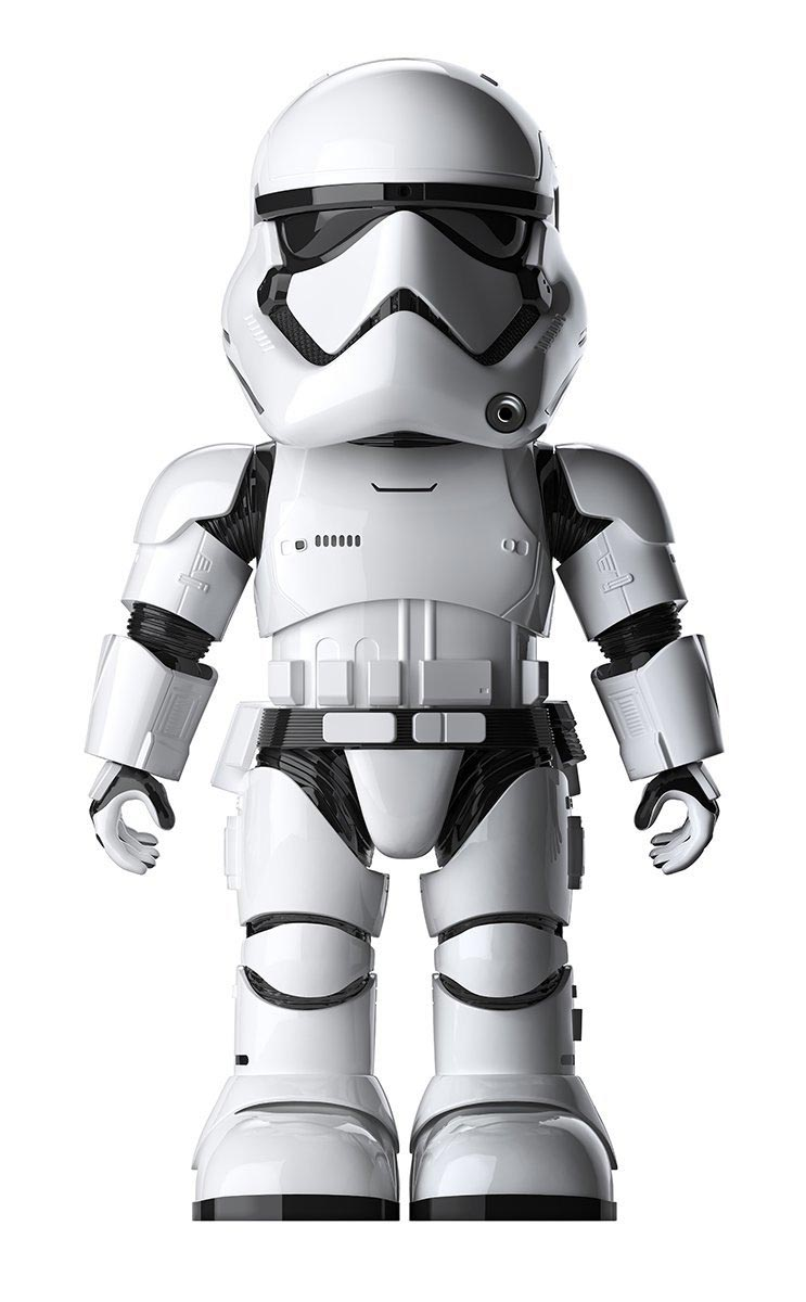 Ubtech first order stormtrooper robot - Robot blanc star wars ...