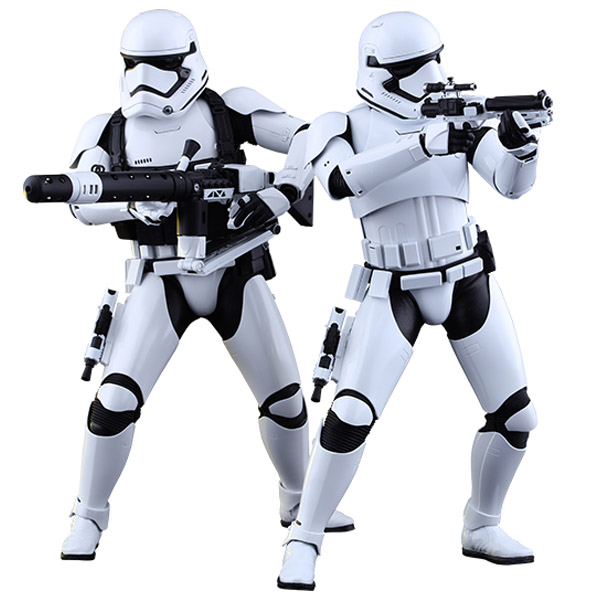 First Order Stormtrooper Sixth-Scale Figure Set